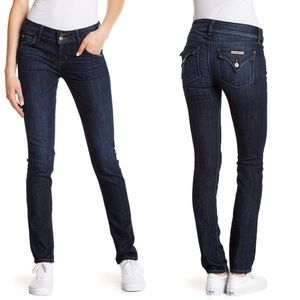 Hudson | Collin Flap Skinny Jeans | 28